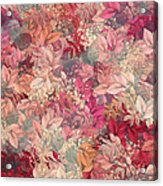 Naturaleaves - S65b Acrylic Print by Variance Collections
