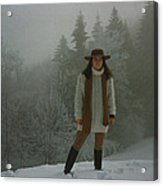 Nature Joy In The Swiss Alps Acrylic Print