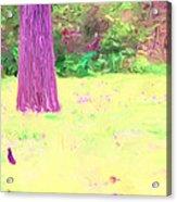 Nature Painting / Digital Art Acrylic Print