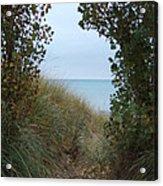 Nature's Door Acrylic Print by Margaret McDermott