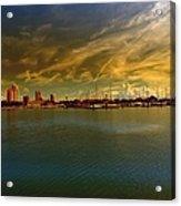 Natures Dramatic Skies  Acrylic Print