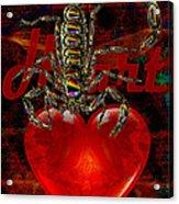 Heart Seat Of Motivation Acrylic Print