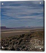 Natures Painted Desert Acrylic Print