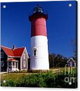 Nausett Lighthouse Acrylic Print