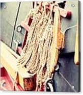 Nautical Rope Acrylic Print