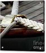 Nautical Textures Acrylic Print