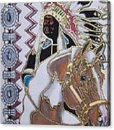 Navajo 02 Acrylic Print
