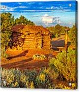 Navajo Hogan Canyon Dechelly Nps Acrylic Print