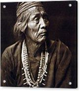 Navajo Medicine Man, C1904 Acrylic Print