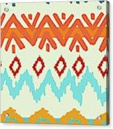 Southwest Pattern I Acrylic Print