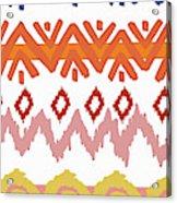 Southwest Pattern IIi Acrylic Print