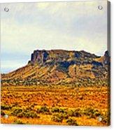 Navajo Nation Monument Valley Acrylic Print