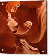 Navajo Red Acrylic Print