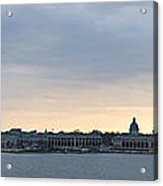 Naval Academy By Day Panorama Acrylic Print