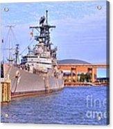 Naval Park Acrylic Print