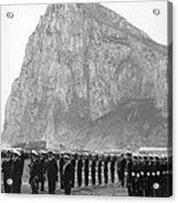 Naval Review At Gibraltar Acrylic Print
