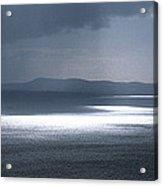 Naval Ship In The Ocean, Baie De Acrylic Print