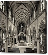 Nave IIi Acrylic Print by Dick Wood