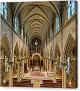 Nave Iv Acrylic Print by Dick Wood