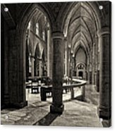 Nave Of St. Joseph Cathedral Acrylic Print by Dick Wood