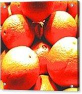Navel Oranges Acrylic Print