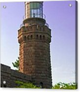 Navesink Twin Lights Lighthouse Acrylic Print