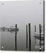 Navigating In The Fog Acrylic Print