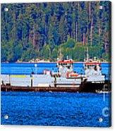 Navy Cover Acrylic Print