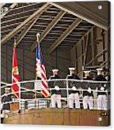Navy Men Acrylic Print