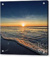 Navy Sunset Acrylic Print