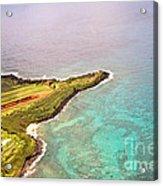 Nawiliwili Lighthouse - Aerial Acrylic Print