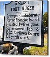 Nc-b2 Fort Huger Acrylic Print