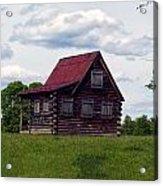 Nc Log Home 2 Acrylic Print