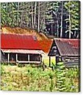 Nc Mountains Acrylic Print