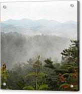 Nc Smokey Mountains Acrylic Print