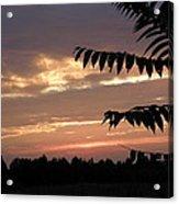Nc Sunset Acrylic Print