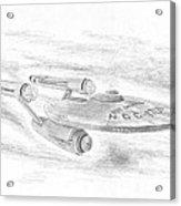 Ncc-1701 Enterprise Acrylic Print