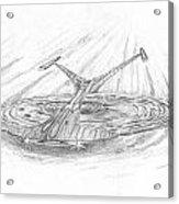 Ncc-1701-j Enterprise Acrylic Print