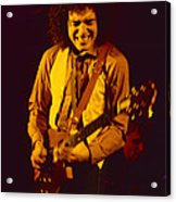 Neal Schon Special Guest With Ronnie Montrose Of Gamma Acrylic Print