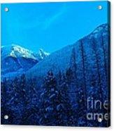 Near Fernie British Columbia  Acrylic Print