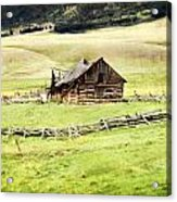 Near Helena Acrylic Print by Marty Koch