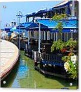Near The Harbour Acrylic Print