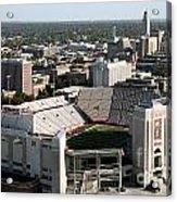 Nebraska Cornhuskers Stadium Lincoln Acrylic Print
