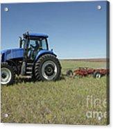 Nebraska Farming Acrylic Print