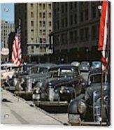 Nebraska Lincoln, 1942 Acrylic Print
