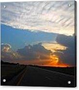 Nebraska Sunset Acrylic Print