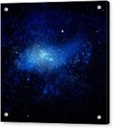 Nebula Ceiling Mural Acrylic Print by Frank Wilson
