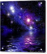 Nebula Reflection Acrylic Print