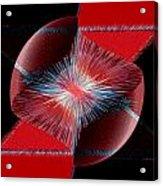 Nebulous 1 Acrylic Print by Angelina Vick
