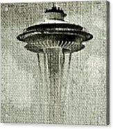 Needle On Canvas Acrylic Print